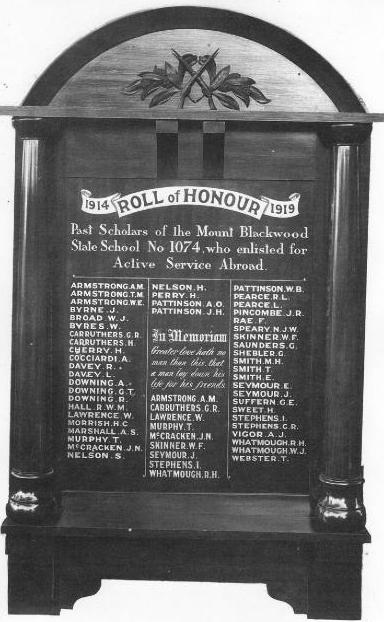 1 world war honour board-2